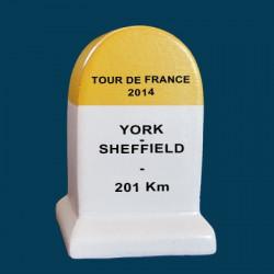 borne Tour de France 2014 York  Sheffield