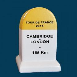 borne Tour de France 2014 Cambridge London