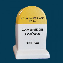 borne Tour de France 2014 Cambridge London