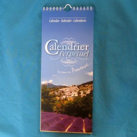 calendrier Provence